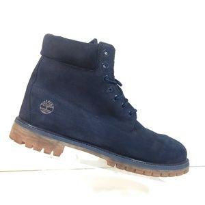 "Timberland 6"" Premium 6718B Men Blue Boots 14 M"